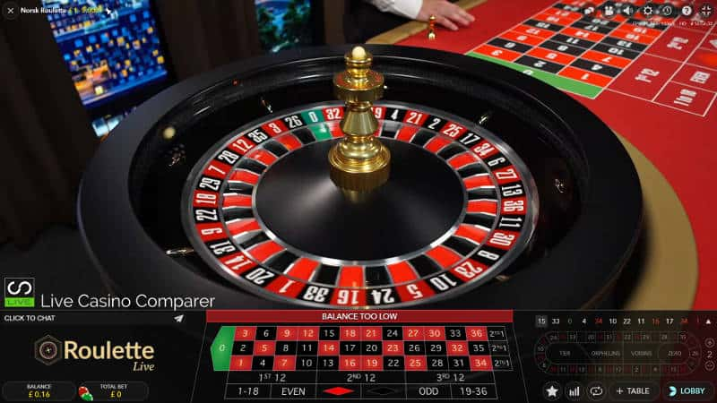 norwegian roulette wheel