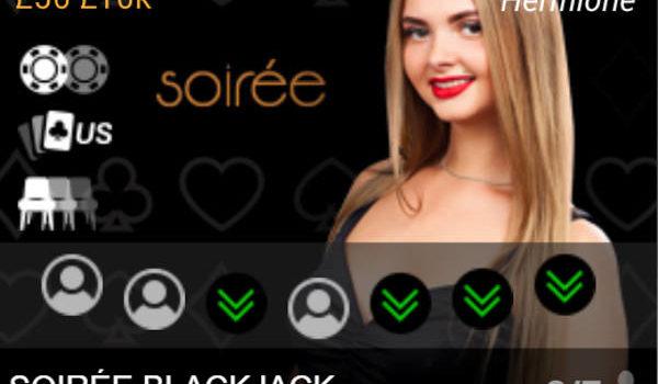 playtech soiree blackjack