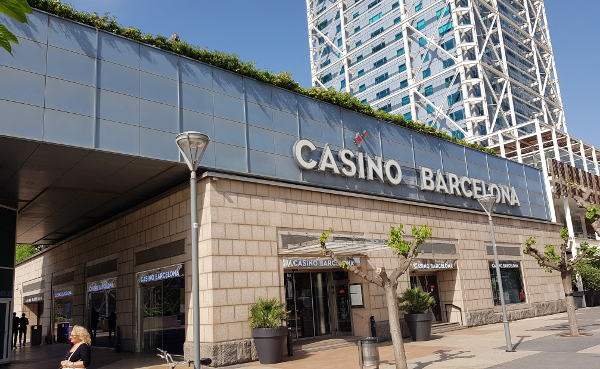 outside picture of the casino barcelona