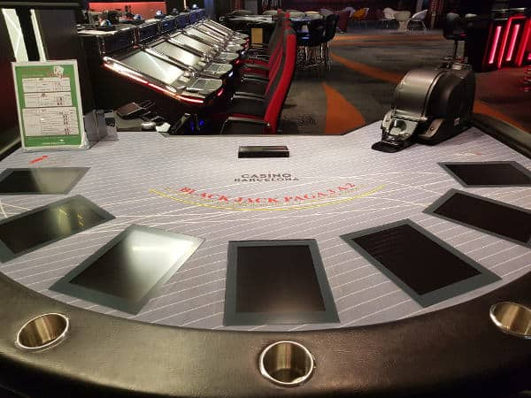the future blackjack table at casino barcelona