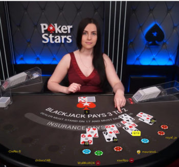 pokerstars live casino