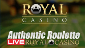 Authentic Royal Casino Live Roulette