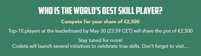 codeta skill score promotion