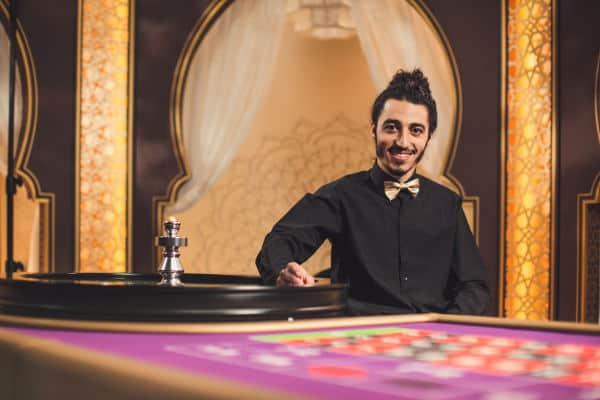 evolution arabic roulette male dealer.