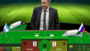 evolution live football studio