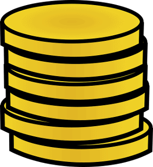 pile of gold coins for mobile live casino promotions