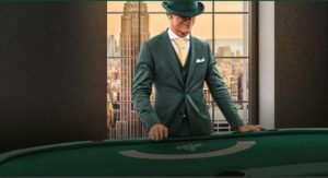 Mr Green Blackjack Gold card