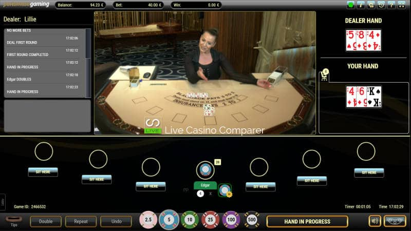 portomaso oracle live blackjack mixed mode format