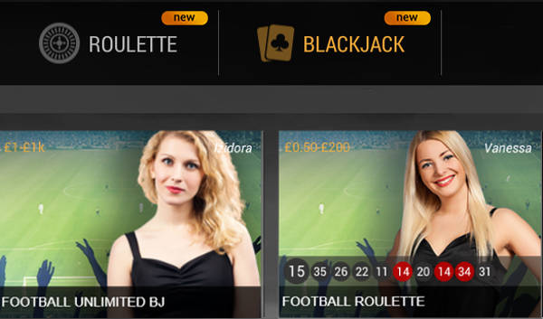 Playtech Football Blackjack & Football Roulette