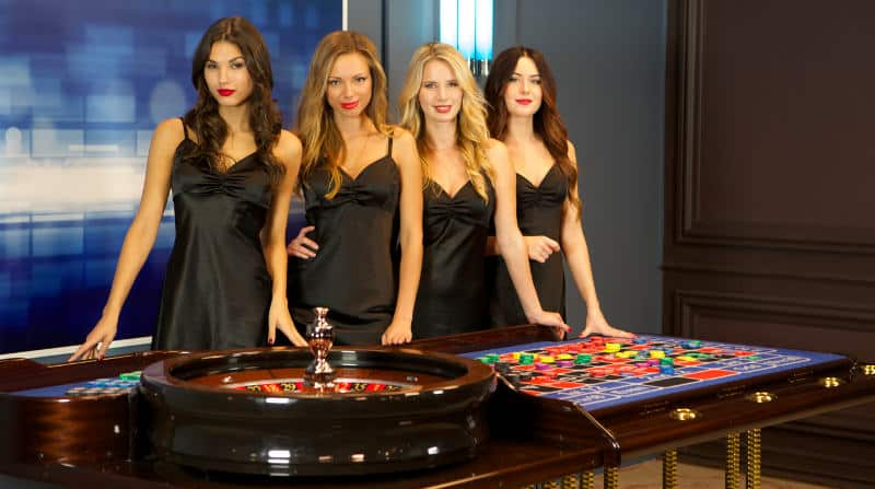 Playtech Live Roulette dealers & Table