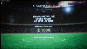 Playtech Trivia show