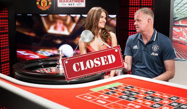 MarathonBet has removed Man Utd Tables