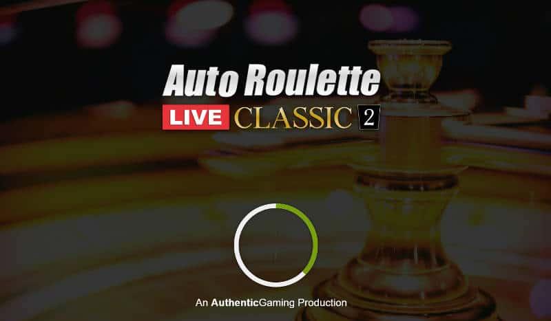 authentic auto roulette classic 2