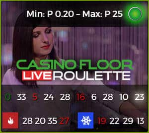 Authentic Casino Floor Live Roulette
