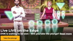 mr Green £10,000 live casino prize draw