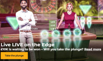mr Green £10,000 live casino prize draw