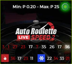 authentic gaming Auto Roulette Speed 2