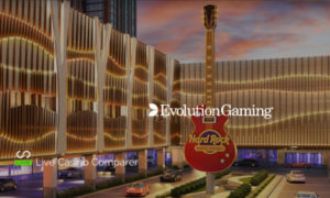 Evolution partners Hard Rock Casino