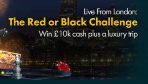 £10k Red or Black Challenge