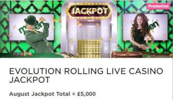 Mr Green August Live Blackjack Challenge