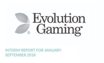 evolution interim report september 2018