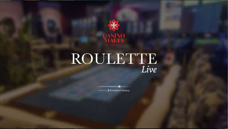 Casino Malta Roulette - Play alongside real players with
