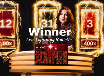 lightning roulette wins egr
