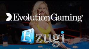 evolution buys ezugi