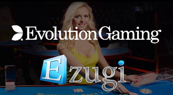 evolution buys ezugi