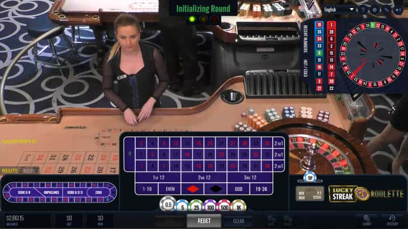 lucky streak oracle live roulette