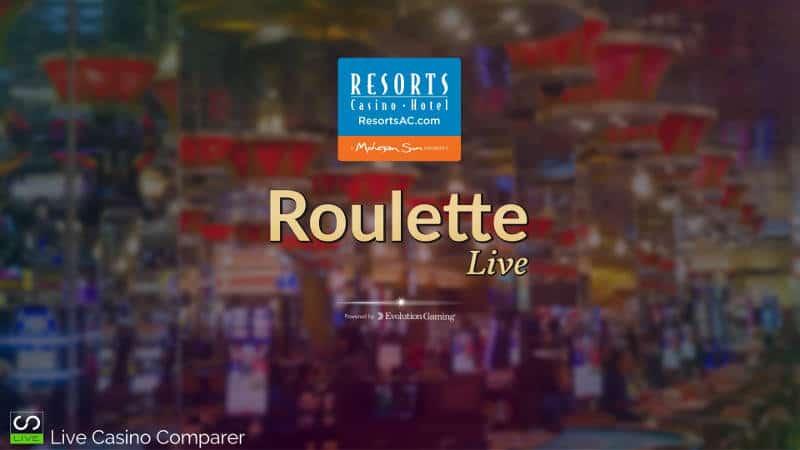 Evolution Atlantic City Roulette intro