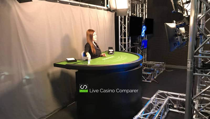 netent live dealer green screen