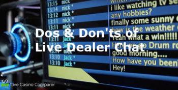 live casino chat