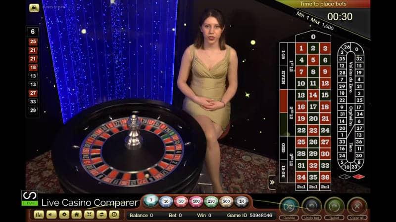 ezugi live roulette romania