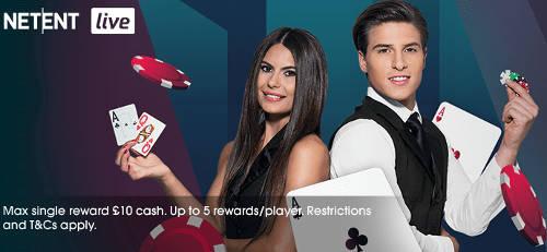 Grosvenor January 2019 Live Casino Promotion
