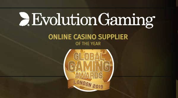 Evolution Wins Online Casino Supplier
