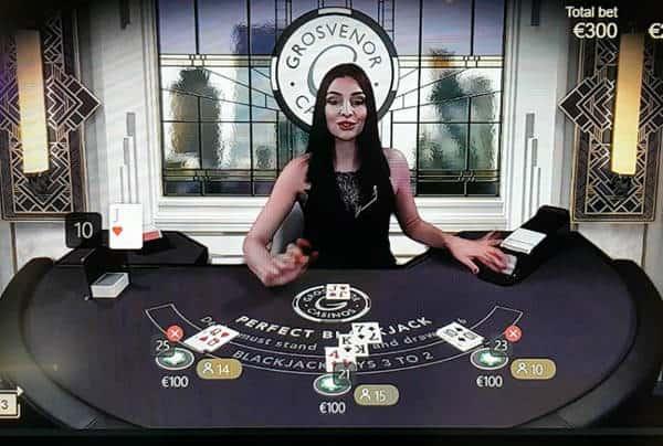 grosvenor perfect blackjack