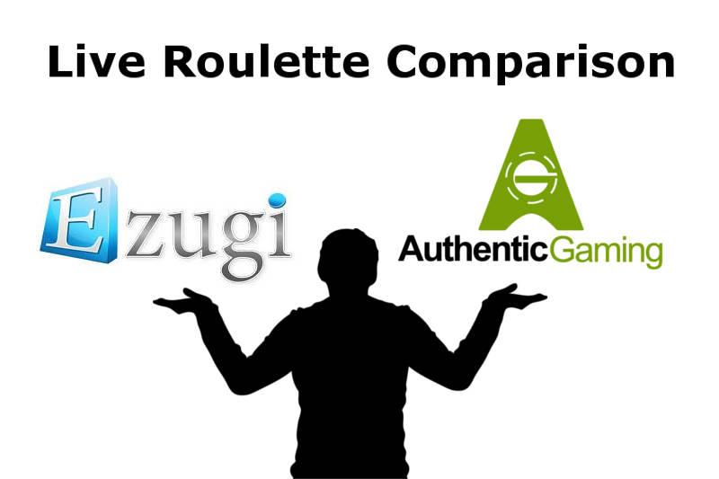 live dealer roulette comparison