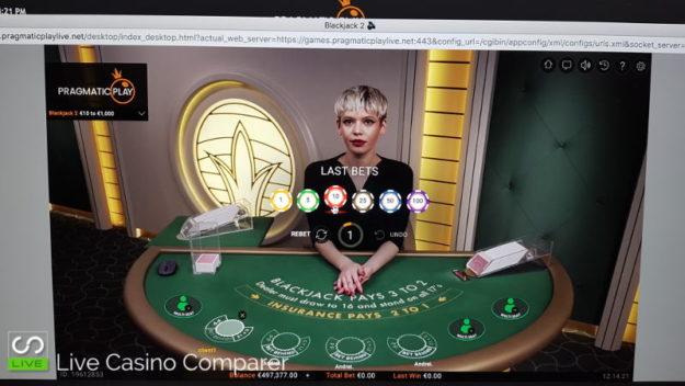 Pragmatic Play Live Blackjack