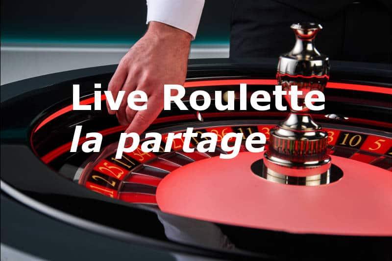 live roulette la partage