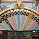 monopoly live dream catcher edition wheel closeup