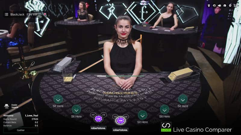 betconstruct Fashion TV Blackjack