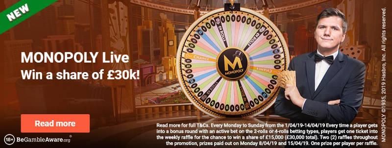 leo vegas monopoly promo