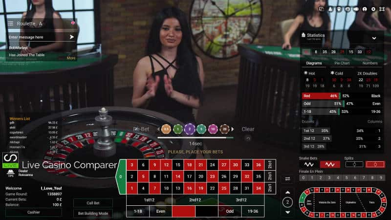 betconstruct live roulette
