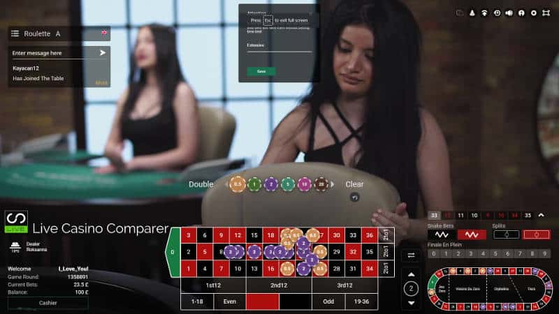 betconstruct live roulette bet building