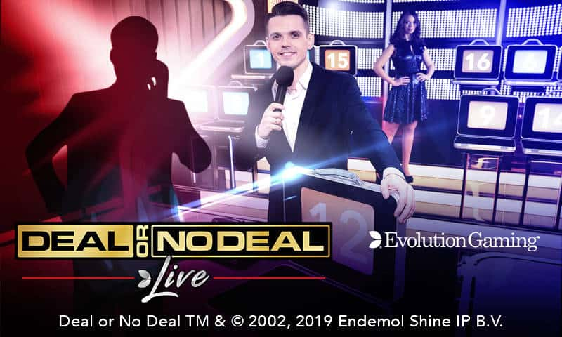 Evolution deal or no deal live