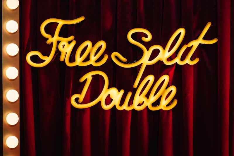 Free Split and Double