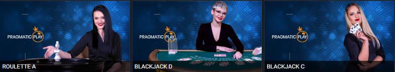 Ixbet live casino lobby