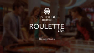 Genting Edinburgh Live Roulette
