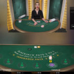 Classic view of the Pragmatic Live Casino Blackjack Table